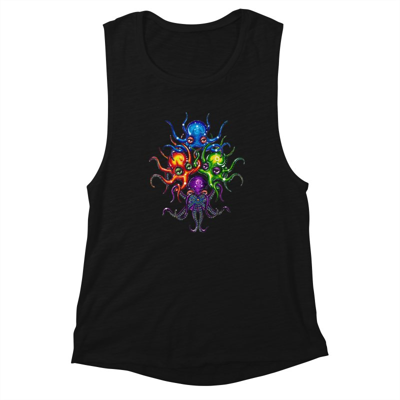 octoTeam Women's Tank by Krakens Lair's Artist Shop