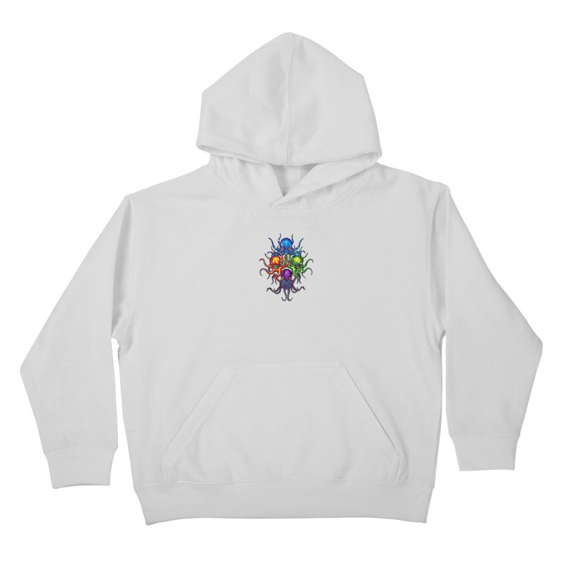 octoTeam Kids Pullover Hoody by Krakens Lair's Artist Shop