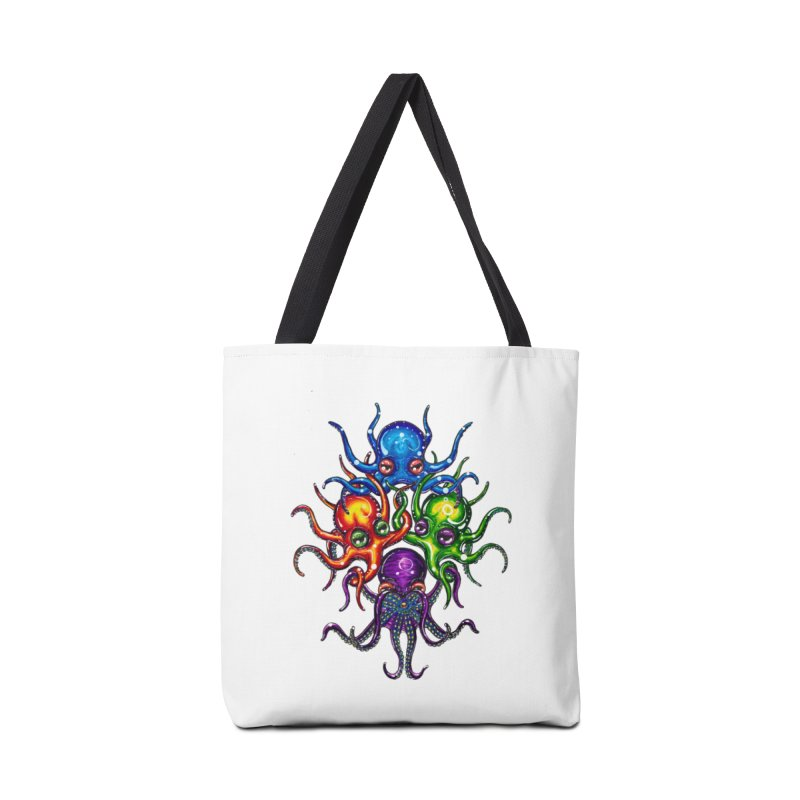 octoTeam Accessories Tote Bag Bag by Krakens Lair's Artist Shop