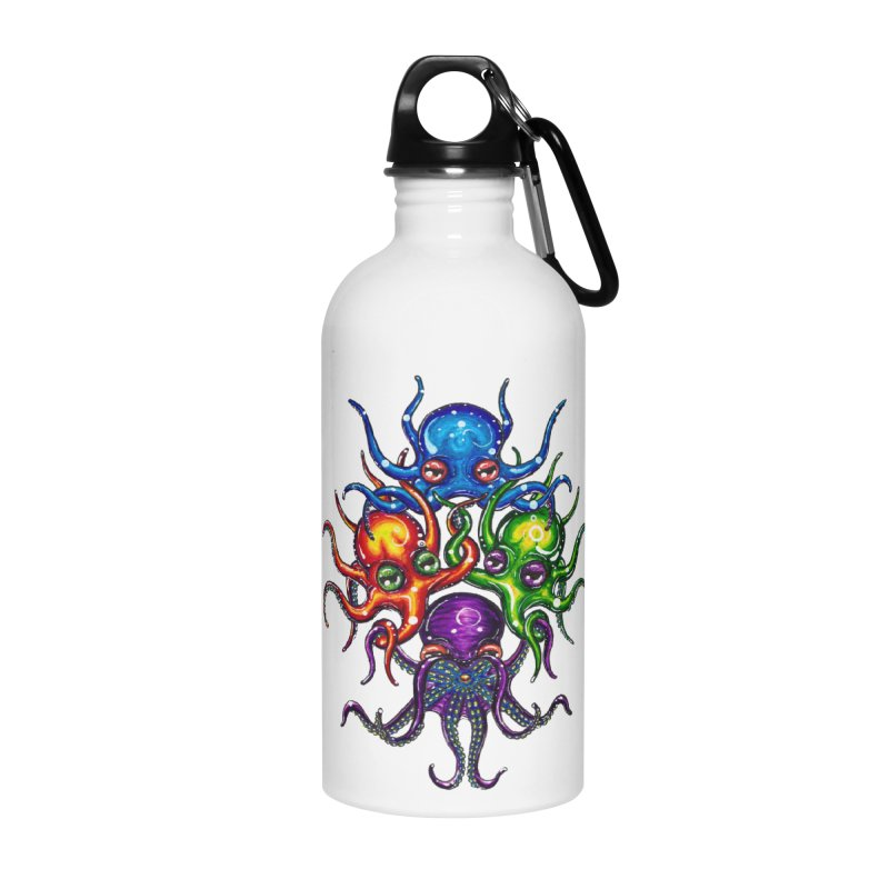 octoTeam Accessories Water Bottle by Krakens Lair's Artist Shop