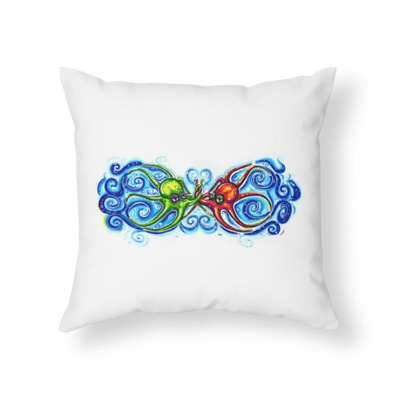 infiniteKraken Home Throw Pillow by Krakens Lair's Artist Shop