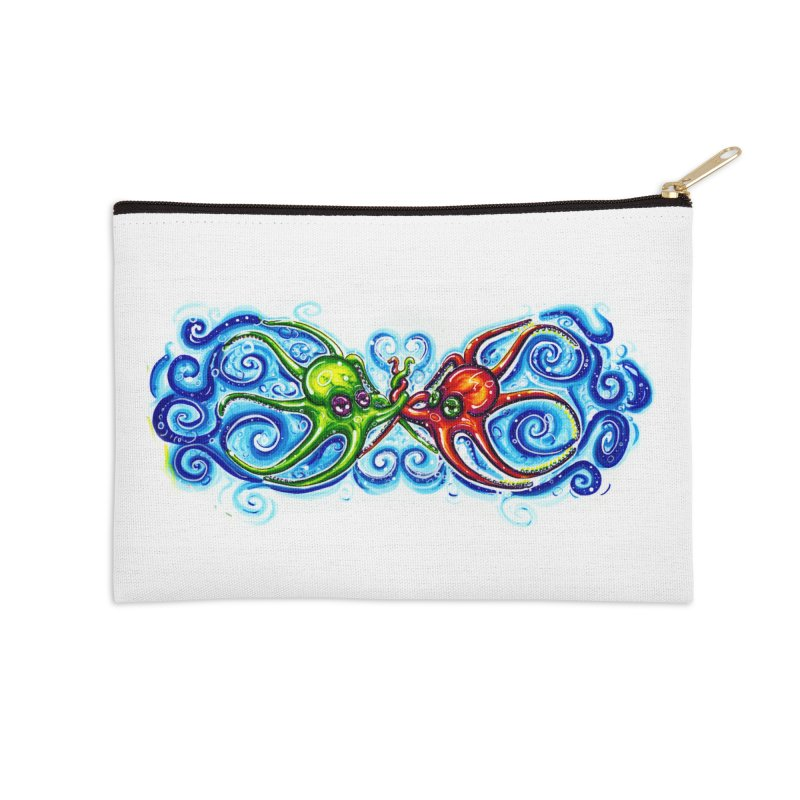 infiniteKraken Accessories Zip Pouch by Krakens Lair's Artist Shop