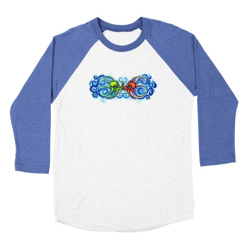 infiniteKraken Women's Baseball Triblend Longsleeve T-Shirt by Krakens Lair's Artist Shop