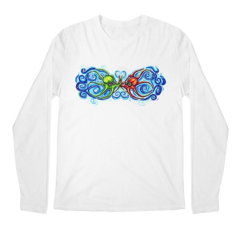 infiniteKraken Men's Regular Longsleeve T-Shirt by Krakens Lair's Artist Shop