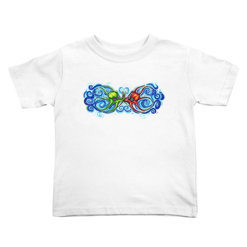 infiniteKraken Kids Toddler T-Shirt by Krakens Lair's Artist Shop