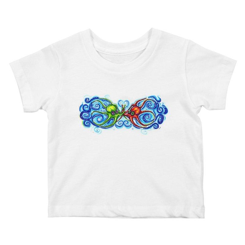 infiniteKraken Kids Baby T-Shirt by Krakens Lair's Artist Shop
