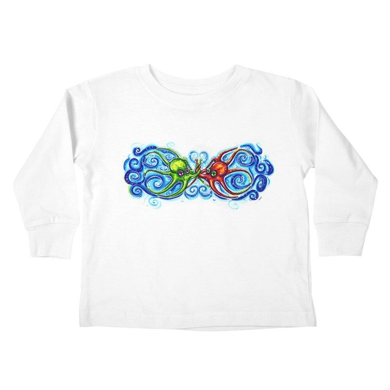 infiniteKraken Kids Toddler Longsleeve T-Shirt by Krakens Lair's Artist Shop