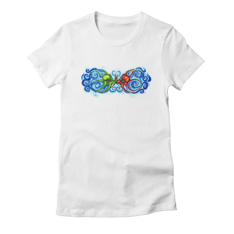 infiniteKraken Women's Fitted T-Shirt by Krakens Lair's Artist Shop