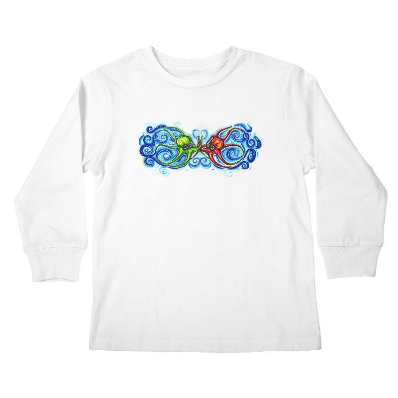 infiniteKraken Kids Longsleeve T-Shirt by Krakens Lair's Artist Shop