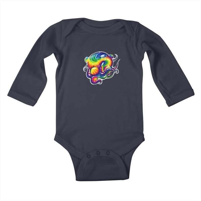 krakenAwakens Kids Baby Longsleeve Bodysuit by Krakens Lair's Artist Shop