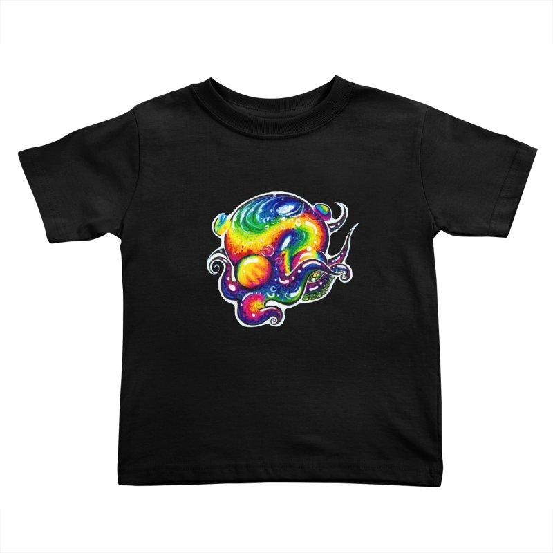 krakenAwakens Kids Toddler T-Shirt by Krakens Lair's Artist Shop