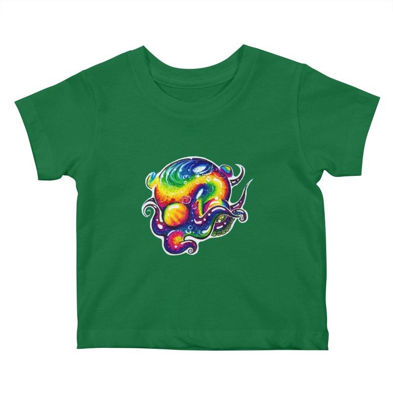 krakenAwakens Kids Baby T-Shirt by Krakens Lair's Artist Shop