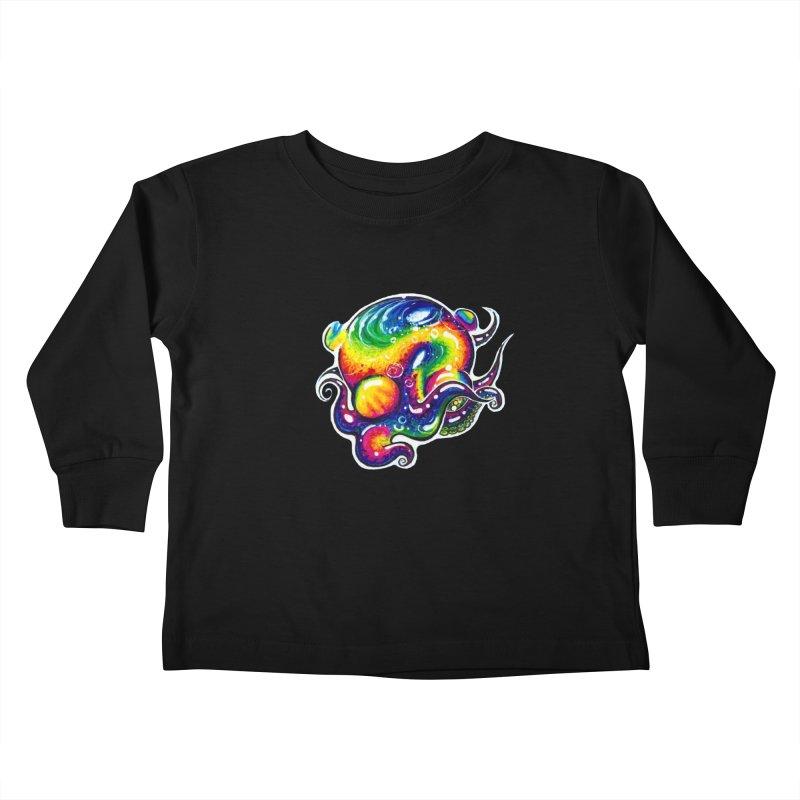 krakenAwakens Kids Toddler Longsleeve T-Shirt by Krakens Lair's Artist Shop
