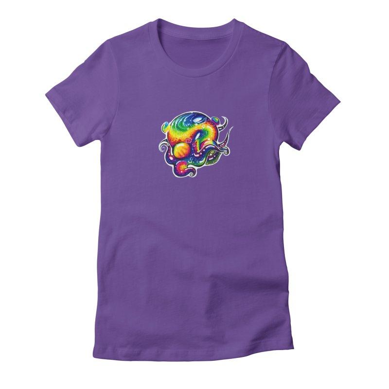 krakenAwakens Women's Fitted T-Shirt by Krakens Lair's Artist Shop
