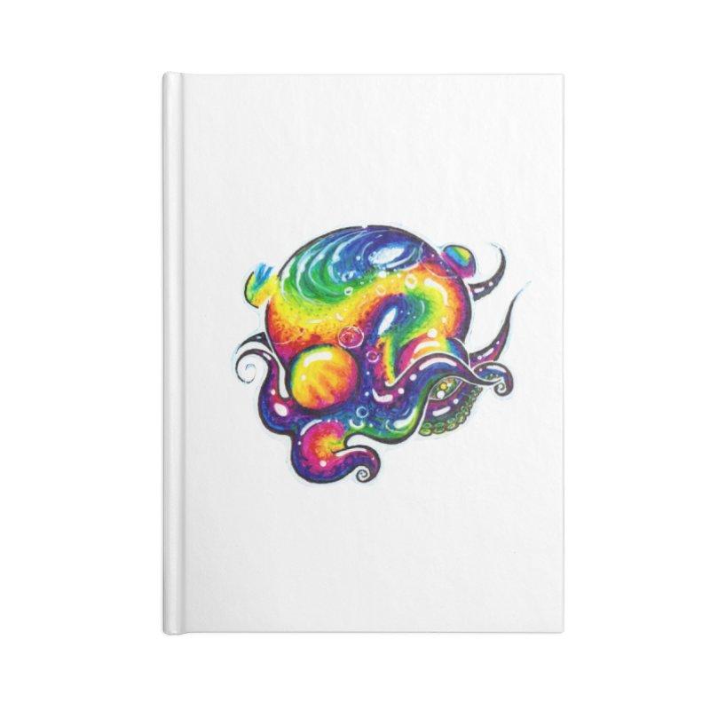 krakenAwakens Accessories Lined Journal Notebook by Krakens Lair's Artist Shop