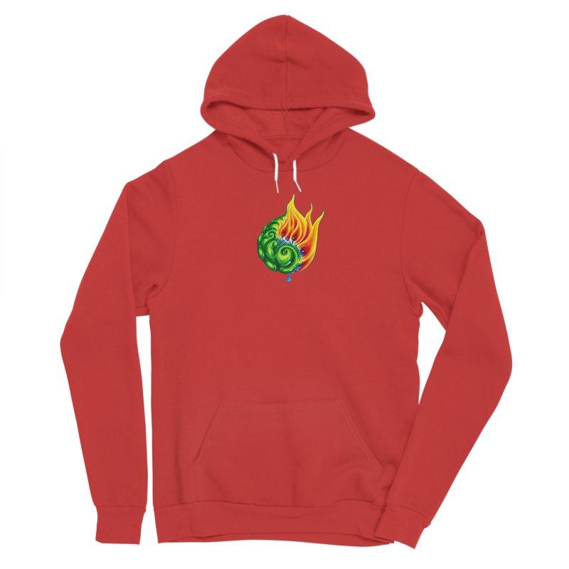foxFire(fire&leaf3) Men's Pullover Hoody by Krakens Lair's Artist Shop