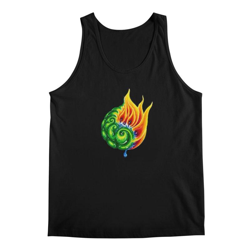 foxFire(fire&leaf3) Men's Regular Tank by Krakens Lair's Artist Shop