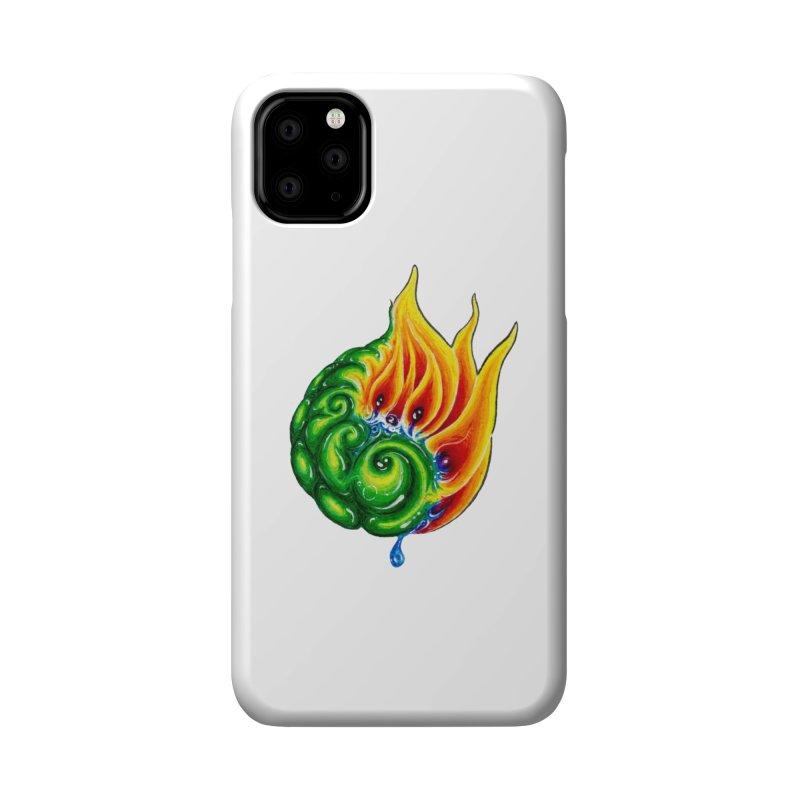 foxFire(fire&leaf3) Accessories Phone Case by Krakens Lair's Artist Shop