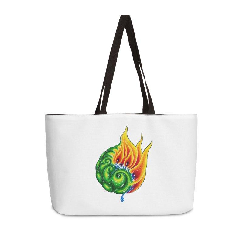 foxFire(fire&leaf3) Accessories Bag by Krakens Lair's Artist Shop