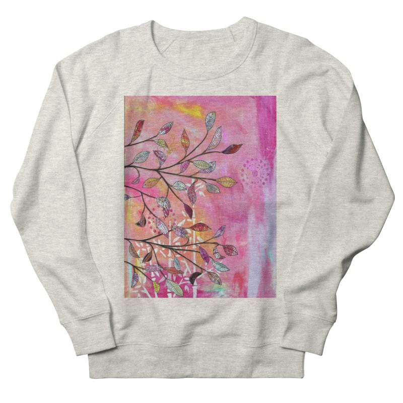 Pink branch Men's Sweatshirt by krasarts' Artist Shop Threadless