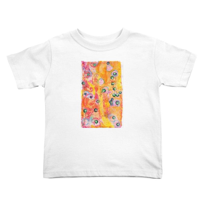 All seeing eyes Kids Toddler T-Shirt by krasarts' Artist Shop Threadless