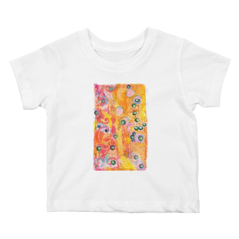 All seeing eyes Kids Baby T-Shirt by krasarts' Artist Shop Threadless