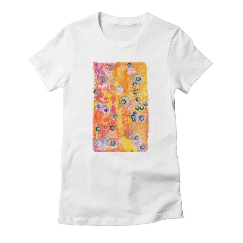 All seeing eyes Women's T-Shirt by krasarts' Artist Shop Threadless