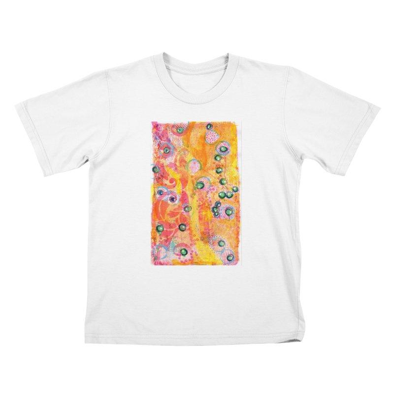 All seeing eyes Kids T-Shirt by krasarts' Artist Shop Threadless