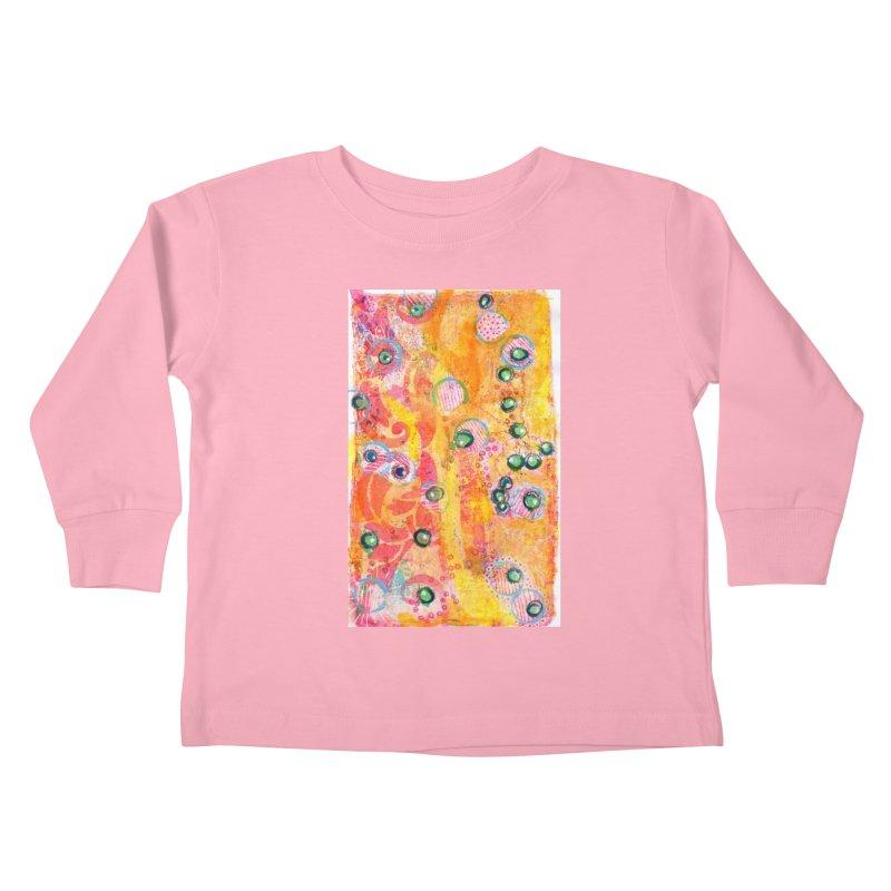 All seeing eyes Kids Toddler Longsleeve T-Shirt by krasarts' Artist Shop Threadless