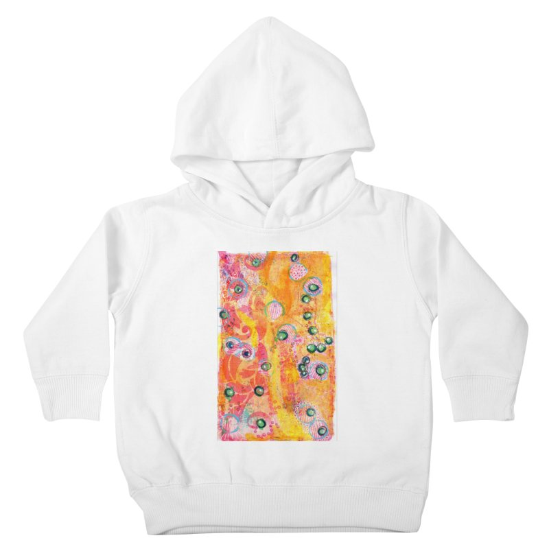 All seeing eyes Kids Toddler Pullover Hoody by krasarts' Artist Shop Threadless