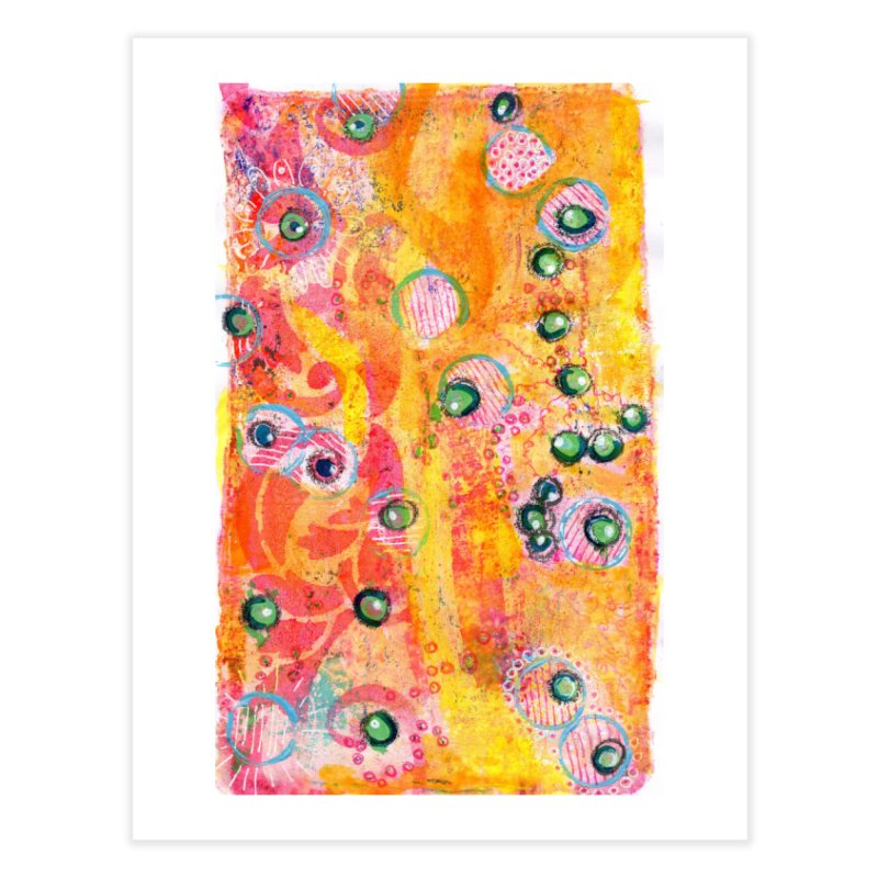 All seeing eyes Home Fine Art Print by krasarts' Artist Shop Threadless