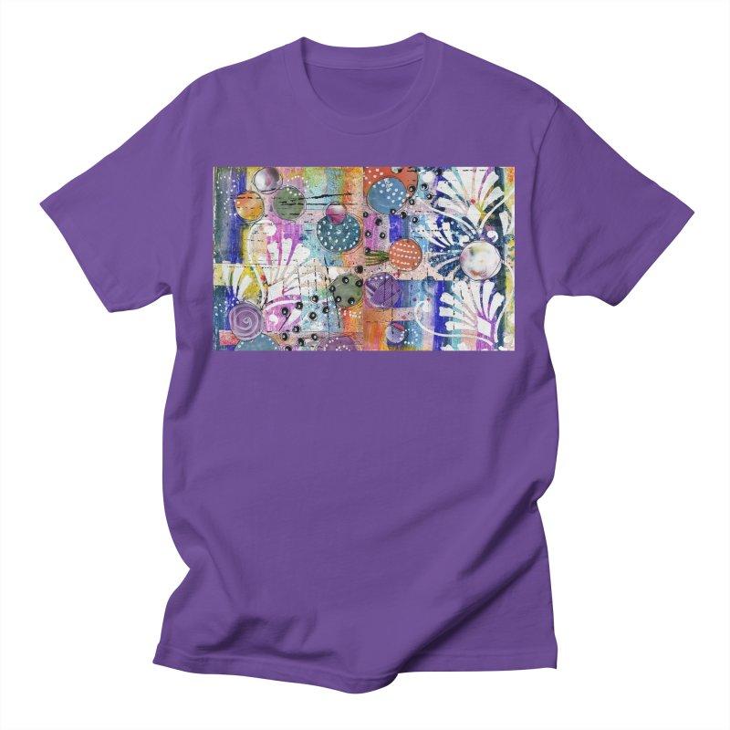 deep orange space Men's T-Shirt by krasarts' Artist Shop Threadless