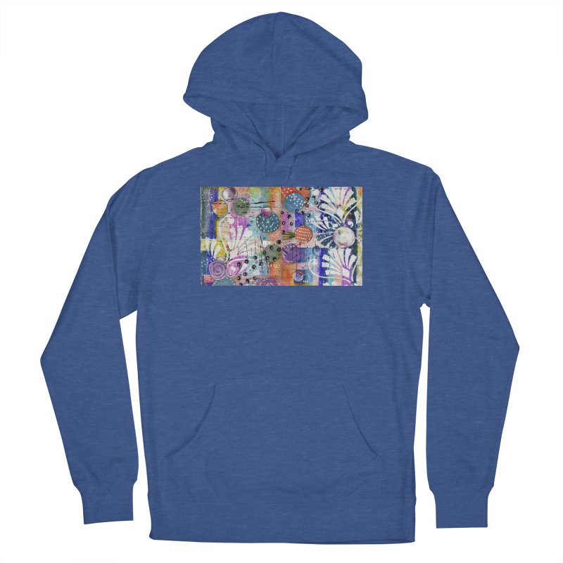 deep orange space Women's Pullover Hoody by krasarts' Artist Shop Threadless
