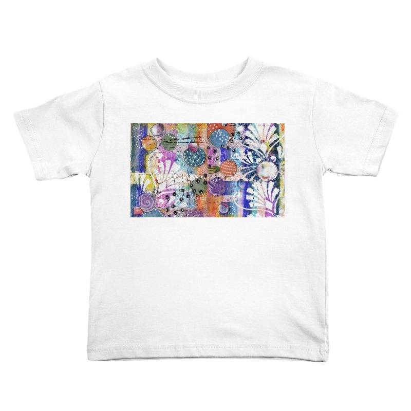 deep orange space Kids Toddler T-Shirt by krasarts' Artist Shop Threadless