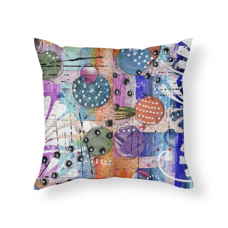 deep orange space Home Throw Pillow by krasarts' Artist Shop Threadless