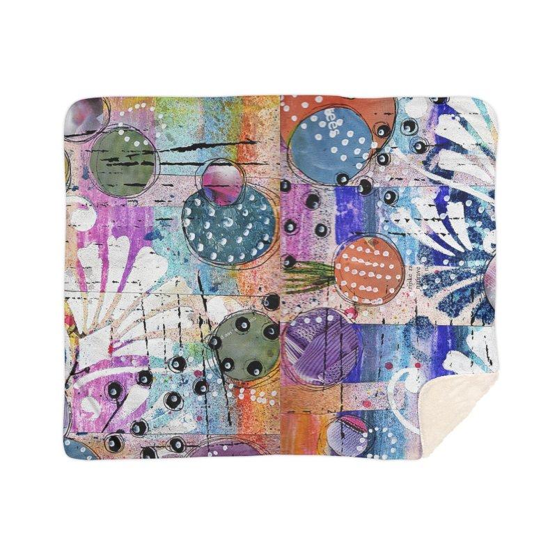 deep orange space Home Blanket by krasarts' Artist Shop Threadless