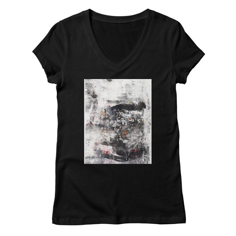 mono Women's V-Neck by krasarts' Artist Shop Threadless