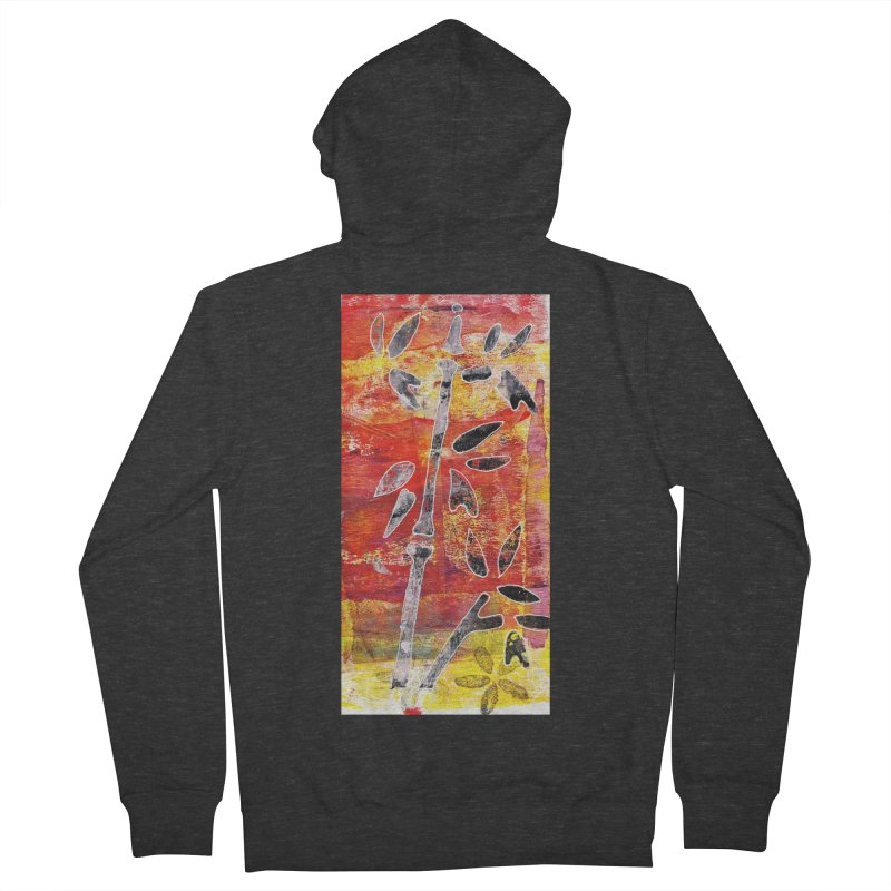 bamboo Men's Zip-Up Hoody by krasarts' Artist Shop Threadless
