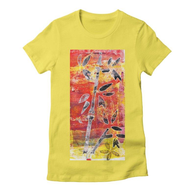bamboo Women's T-Shirt by krasarts' Artist Shop Threadless