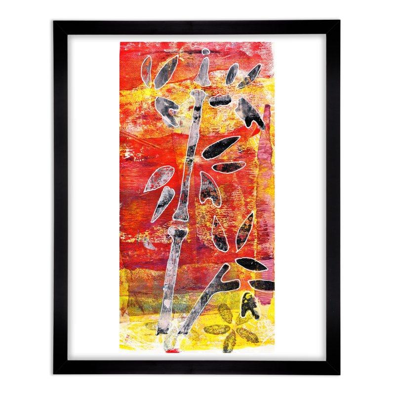 bamboo Home Framed Fine Art Print by krasarts' Artist Shop Threadless
