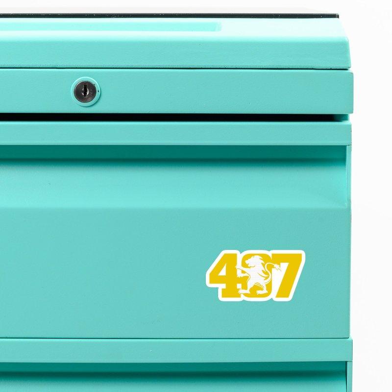 Orlando 407 Lion Accessories Magnet by Krawmart