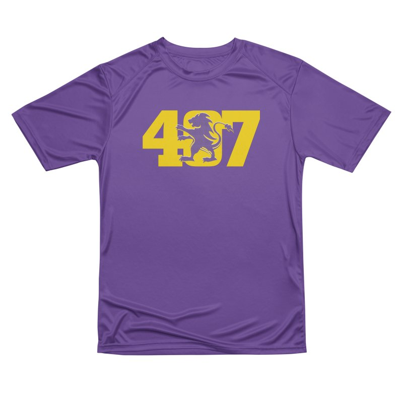 Orlando 407 Lion Men's T-Shirt by Krawmart