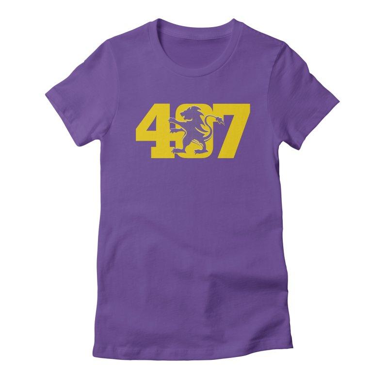 Orlando 407 Lion Women's T-Shirt by Krawmart