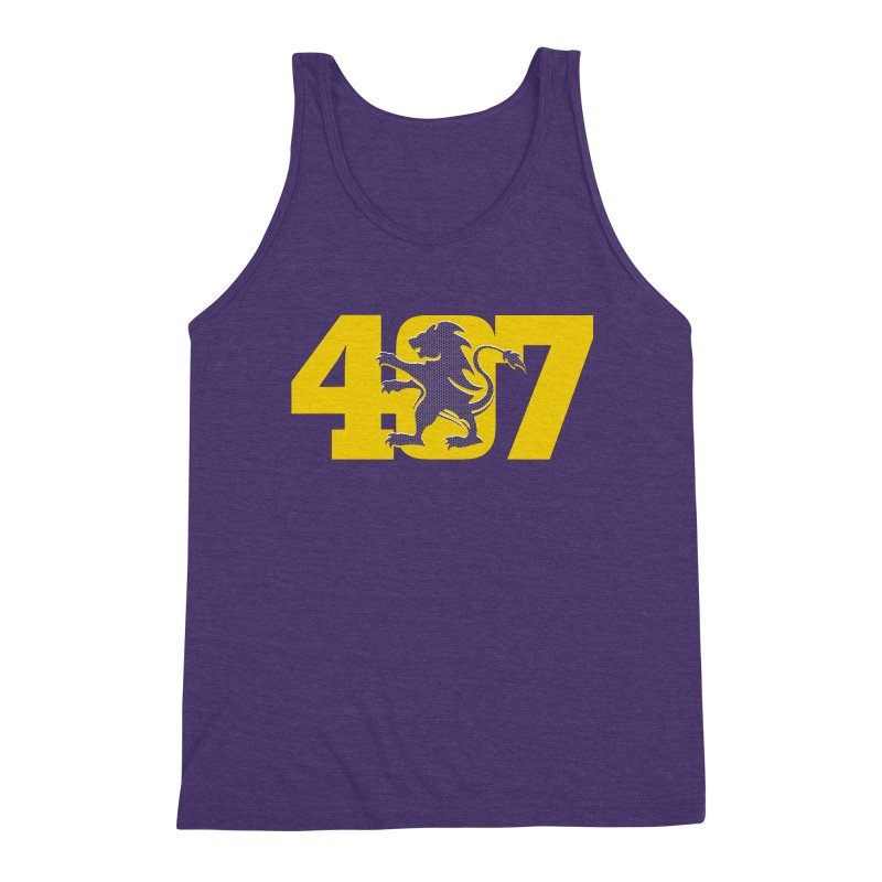 Orlando 407 Lion Men's Tank by Krawmart