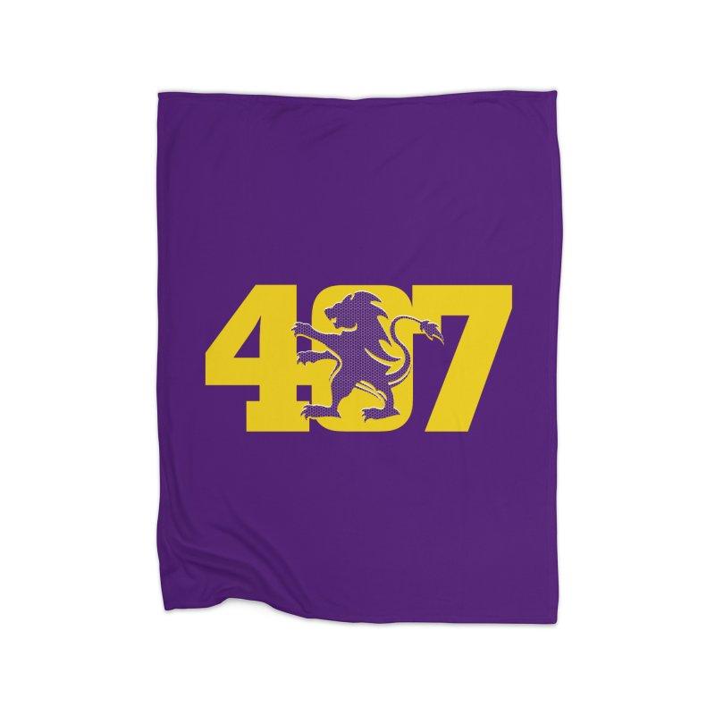 Orlando 407 Lion Home Blanket by Krawmart