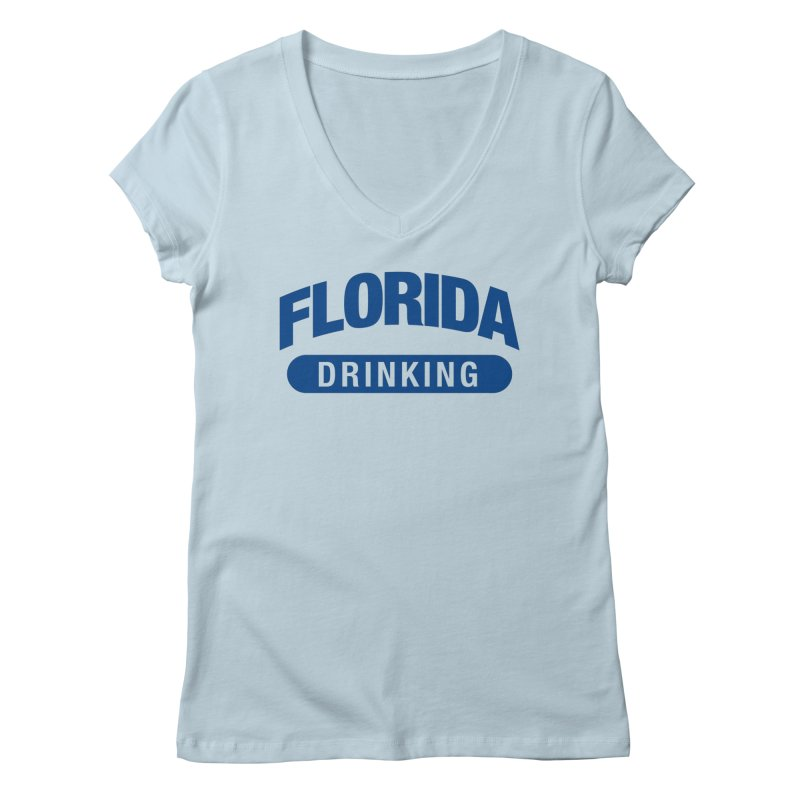 Florida Drinking Team Women's V-Neck by Krawmart