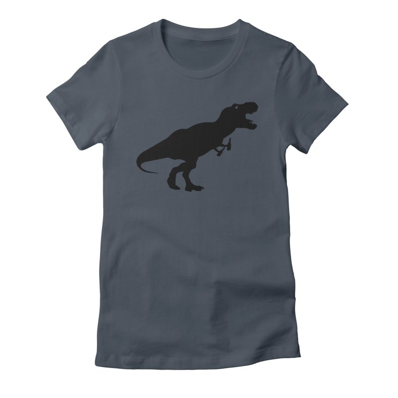 Double-fisting Dino Women's T-Shirt by Krawmart