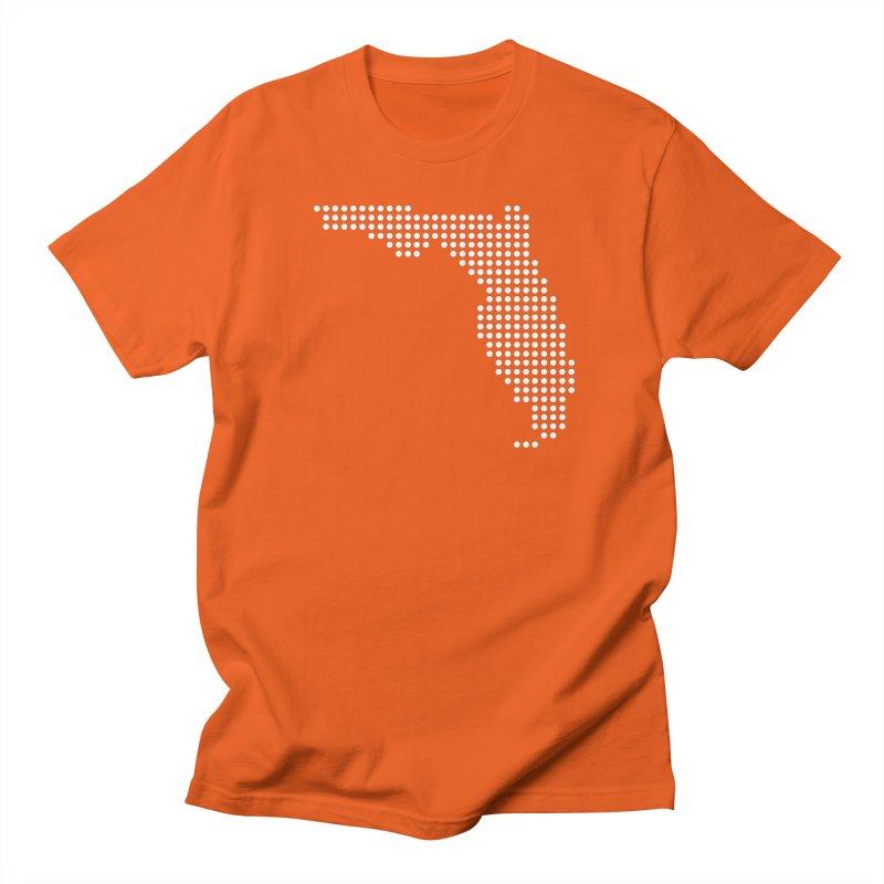Florida Dots Men's T-Shirt by Krawmart