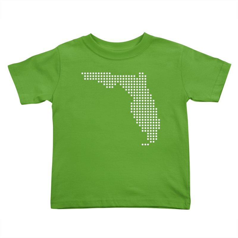 Florida Dots Kids Toddler T-Shirt by Krawmart