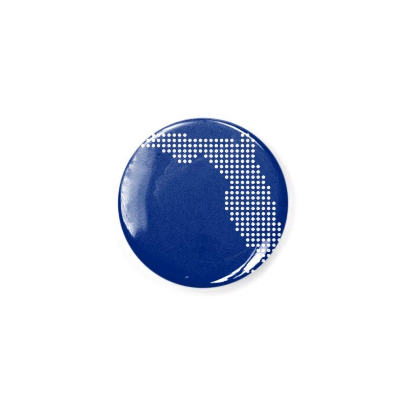 Florida Dots Accessories Button by Krawmart